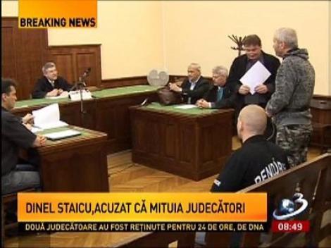 Dinel Staicu, acuzat că mituia judecători