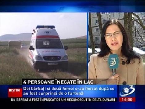 4 persoane au murit înecate pe lacul Murighiol