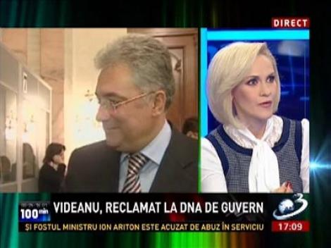 Gabriela Firea: Videanu vine și spune că Victor Ponta are o problemă cu el, dar el este curat ca lacrima