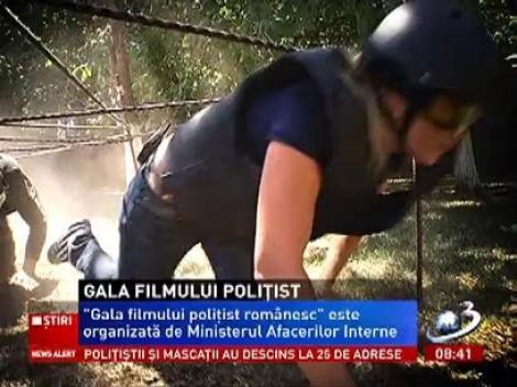 Reporterii Antena 3, Carmina Othma şi Sonia Simionov participă la Gala Filmului Poliţist Românesc