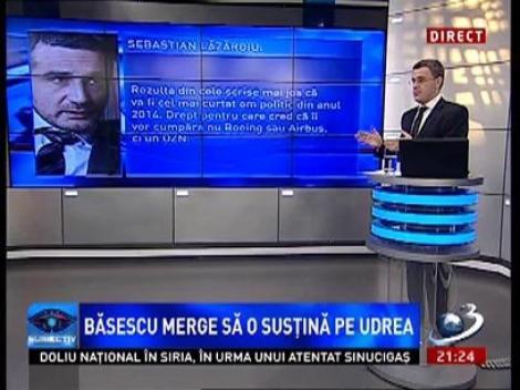 Subiectiv. Lăzăroiu: În 2014 cel care va decide câştigătorul alegerilor se numeşte Traian Băsescu