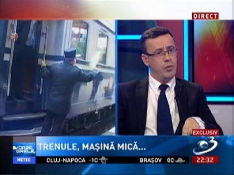 Vorbe Grele: Relu Fenechiu, despre privatizarea CFR Marfă și falimentul iminent