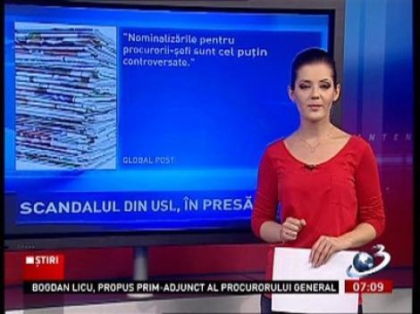 Numirea Codruţei Kovesi, pe prima pagină a ziarelor. Cum comentează jurnaliştii agitaţia din scena politică
