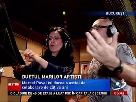 Duetul marilor artişti! Angela Gheorghiu cântă alături de Marcel Pavel