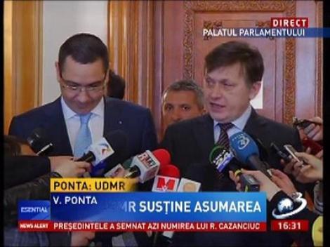 Antonescu: Nu susţin propunerile domnului Remus Cernea