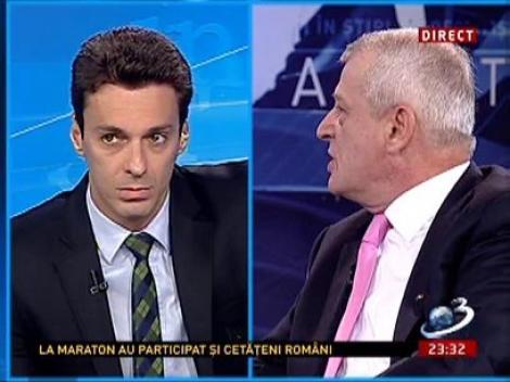Mircea Badea l-a întrebat pe Sorin Oprescu despre problema taximetriștilor din București