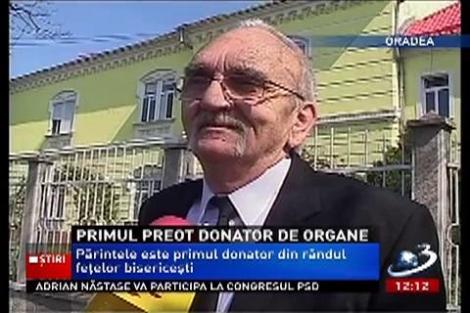 Primul preot donator de organe a salvat trei vieţi