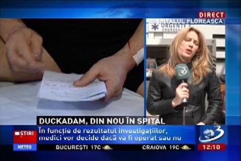 Helmuth Duckadam, din nou la spital