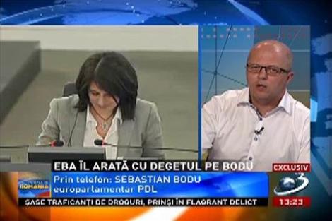 EBA arată cu degetul! Nu este singura care a făcut gafe în parlamentul European