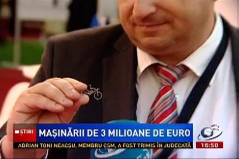 Masinării de 3 milioane de euro, la târgul Demo Metal din Capitală