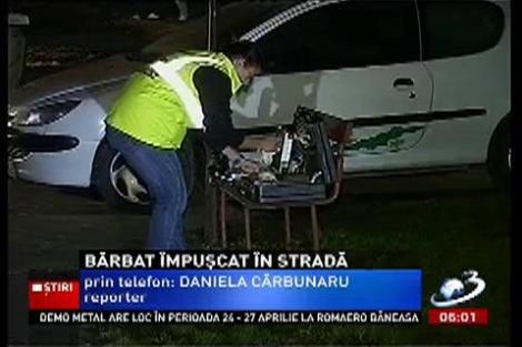 Un bărbat din Frumușani a fost împușcat în abdomen, în plină stradă