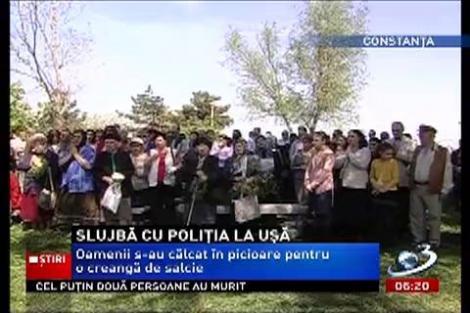 Slujbă cu scandal la biserica Sfântul Mina din Constanţa