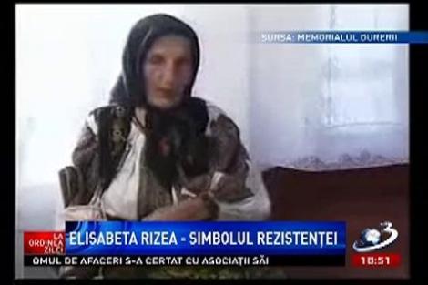 La ordinea zilei: Elisabeta Rizea, simbolul rezistenţei