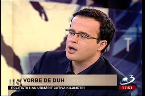 """Adrian Ursu şi Mihai Gâdea, despre """"vorbe de duh"""" şi oameni înţelepţi"""