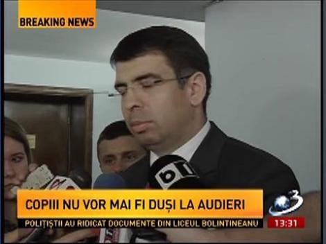 """Ministrul Justiţiei explică acţiunea de la """"Bolintineanu"""": Procurorul a administrat acest dosar cum a crezut de cuviinţă"""