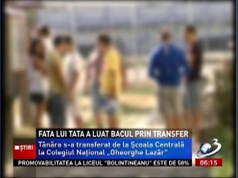 Șeful Inspectoratului Școlar București și-a transferat fiica la un alt liceu, înainte de Bac