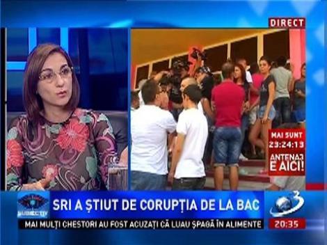 Subiectiv: SRI a ştiut de corupţia de la BAC