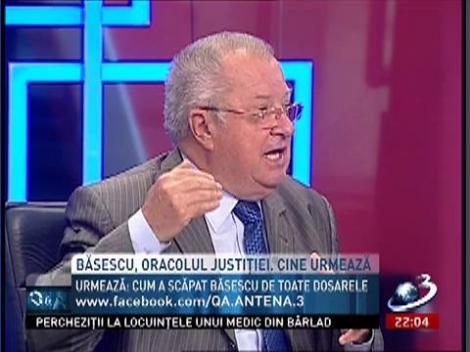 """Sergiu Andon, despre Băsescu, """"oracolul Justiţiei"""": A avut informaţii"""