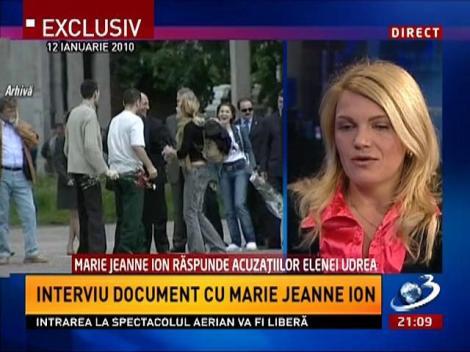 Interviu document cu Marie Jeanne Ion