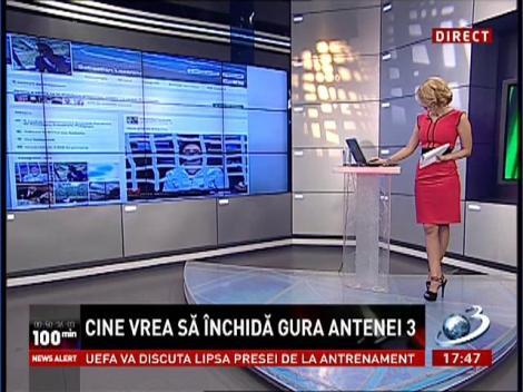 Cine vrea să închidă gura Antenei 3. Consilierul prezidenţial Sebastian Lăzăroiu ameninţă jurnaliştii postului de televiziune