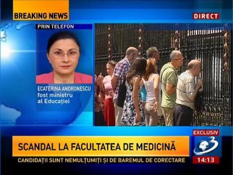 Scandal la Facultatea de Carol Davila din Bucureşti