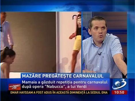 Radu Mazăre, Regele Nabucodonosor la carnavalul din Mamaia