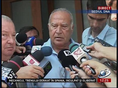 Dan Voiculescu: DNA spune că sunt complice. Este un conflict comercial care nu are nici o treabă cu penalul