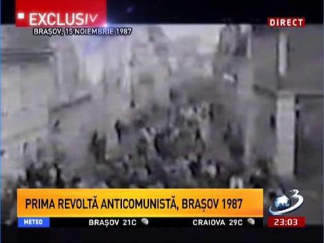 Prima revoltă anticomunistă, la Braşov în anul 1987