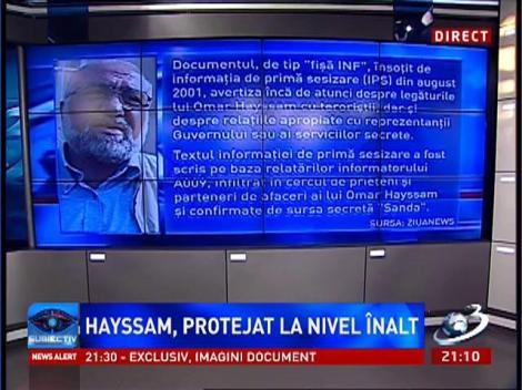Subiectiv: Pe baza pilelor de la SRI, Hayssam, împreună cu alţi arabi se ocupau cu activităţi economice ilegale
