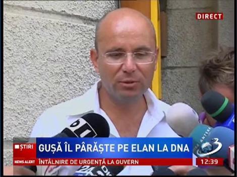 Gosmin Guşă, declaraţii la sediul DNA