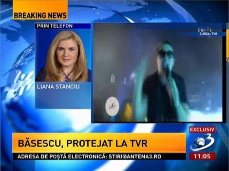 Cum ia TVR microfonul artiștilor. Prezentatoarea Liana Stanciu explică reacția față de rapper-ul care a cântat împotriva lui Traian Băsescu