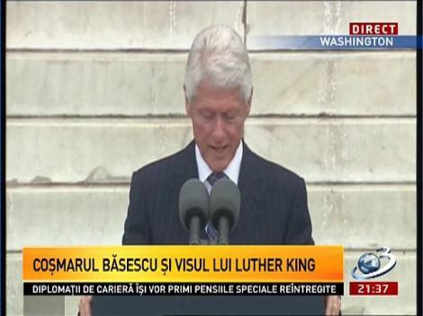 Discursul impresionant al lui Bill Clinton de la Washington