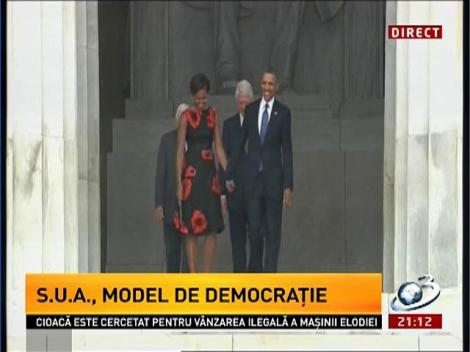 Imagini LIVE de la ceremonia din Washington