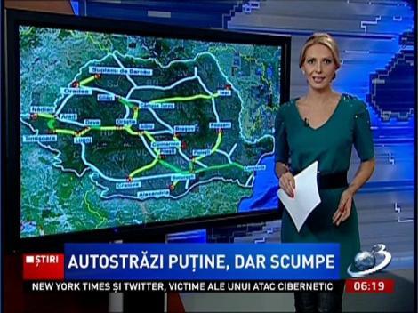 Cum ar fi arătat România cu 3.200 de km de autostradă. La 40 de ani de la visul lui Ceauşescu, realitatea este DUREROASĂ: abia am sărit de 500 de km