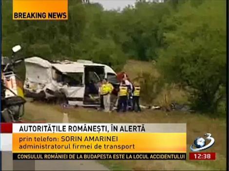 Sorin Amarinei, explică pas cu pas momentul accidentului din Ugaria! Se pare că șoferul TIR-ului a adormit la volan