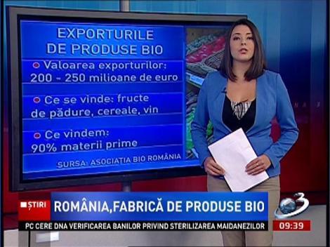 România, fabrică de produse bio