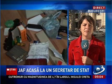 Jaf acasă la secretarul de stat din Ministerul Agriculturii Valentin Şoneriu