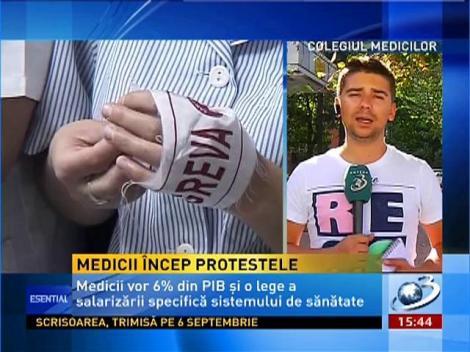 Medicii încep protestele