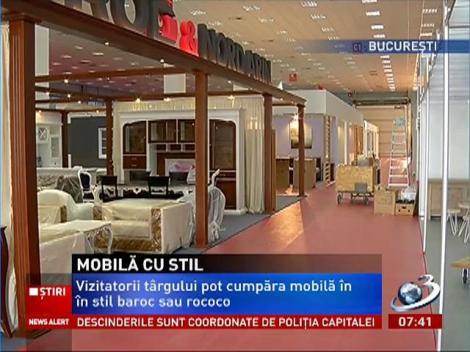 Agitaţie mare la Romexpo, la deschiderea târgului de mobilă BIFE-SIM