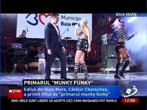 """Edilul din Baia-Mare a primt titlul de  """"Primarul Munky Funky"""""""