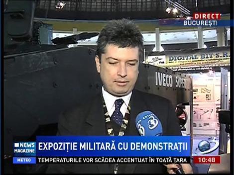 Expoziție militară cu demosntrații