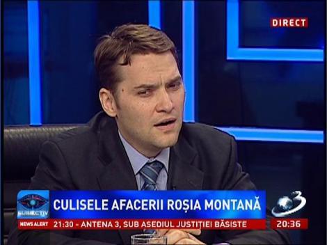 Subiectiv: Cele trei motive ale lui Dan Şova pentru care ar face şi NU ar face proiectul Roşia Montană