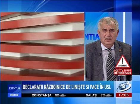 Esenţial: Dumitru Pelican, despre declaraţiile războinice dintre Ponta şi Antonescu