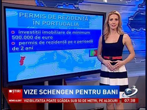 Vize Schengen pentru bani