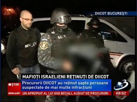 Procurorii DIICOT au reţinut şapte persoane suspectate de diverse infracţiuni