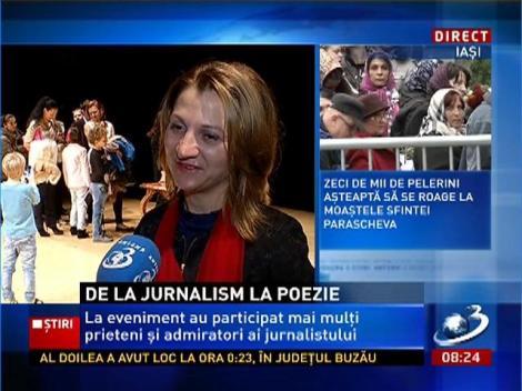 Marius Tucă, de la jurnalism la poezie