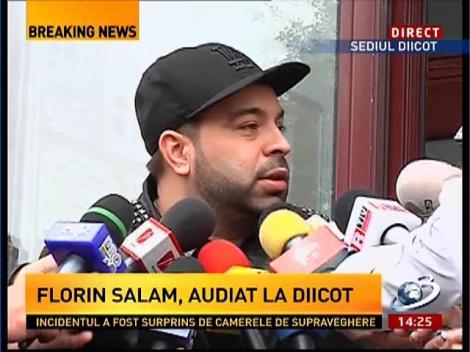 Florin Salam: Am fost în calitate de martor
