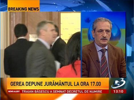 Andrei Gerea, noul ministru al Economiei. Băsescu a semnat decretul de numire în funcţie
