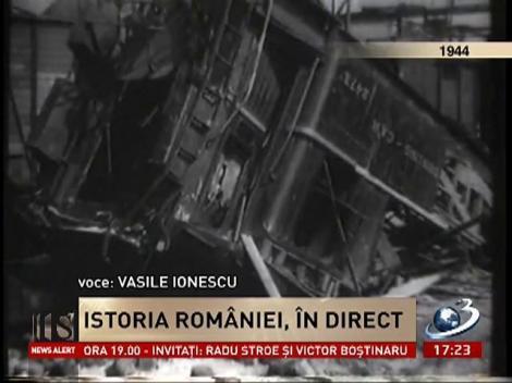 Secvențial:23 august 1944, bombardarea României, transmisă în direct la radio
