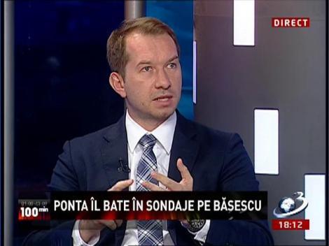 100 de Minute: Ponta îl bate în sondaje pe Băsescu
